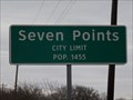 Image for Seven Points, TX - Population 1455