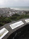 Image for Aberystwyth View, Penglas Viewpoint, Aberystwyth, Ceredigion, Wales, UK
