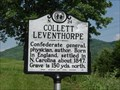 Image for Collett Leventhorpe, Marker N-24