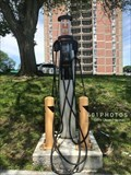 Image for EV Charging Station at Russell Common Municipal Lot - Arlington, Massachusetts   USA