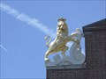 Image for Replica Heraldic Lion Sculpture - Massachusetts Building - West Springfield, MA