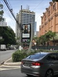 Image for Av Joao Doria Time and Temperature Sign - Sao Paulo, Brazil