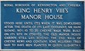Image for King Henry VIII's Manor House - Cheyne Mews, London, UK