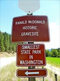 Image for Ranald MacDonald Burial Site - Toroda, WA