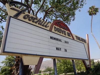 Foothill - Drive-In Theatre - Azusa, California