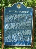 Image for Historic Dubuque Marker – Dubuque, IA