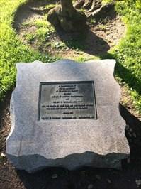 Toyokawa, 5th Anniversary Marker Stone, Cupertino, CA