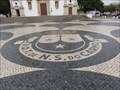 Image for Order Of Carmelites Coat Of Arms Mosaic - Faro, Portugal