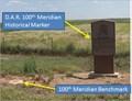 Image for 100th Meridian - TX / OK Border