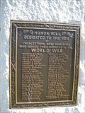 Image for World War I Memorial - Charlestown, New Hampshire
