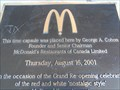 Image for Retro McDonald's Time Capsule - Oxford St., London, Ontario