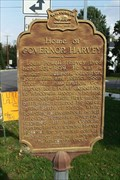 Image for Home of Governor Harvey Historical Marker