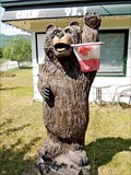 "Image for CHLW ""The Bear"" Bear Statue - Barriere, BC"