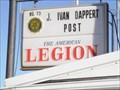 "Image for ""J. Ivan Dappert Post 73"", Taylorville, Illinois."