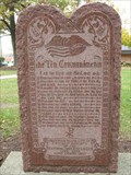 Image for Bible in Exodus 20 - The Ten Commandments - Chicago Heights, IL