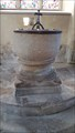 Image for Baptism Font - St Michael & All Angels - Teffont Evias, Wiltshire