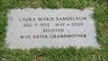 Image for 100 - Laura Marie Samuelson - Rose Hill Burial Park - OKC, OK
