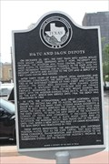 Image for LAST -- Mile of the Houston & Texas Central Railroad line to Austin, Austin TX