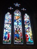Image for Stained Glass Windows - Parish Church of All Saints Odd Rode - Scholar Green, Cheshire East, UK.