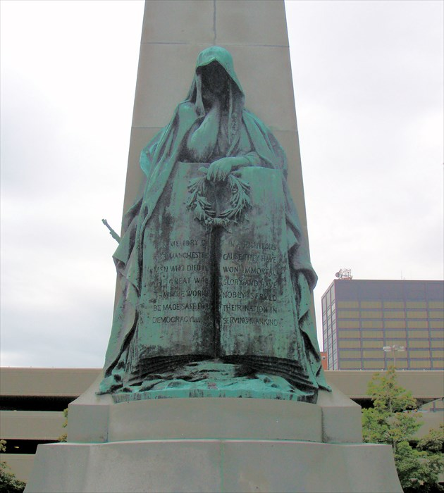 Victory Monument - Manchester, NH - World War I Memorials and
