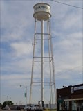 Image for Tallest Water Tower in Texas - Satellite Oddity - Shamrock, Texas, USA.