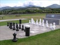 Image for Chess and Draughts Board, Kuratau. Lake Taupo. New Zealand.