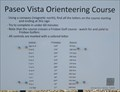 Image for Paseo Vista Orienteering Course - Chandler, AZ