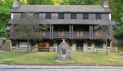 Roaring River State Park Hotel Barry County Missouri U S National Register Of Historic Places On Waymarking