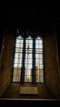 Image for Elizabeth Smart window - St George - St Cross South Elmham, Suffolk