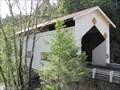 Image for Little River (Cavitt Creek) Covered Bridge, near Glide, Oregon