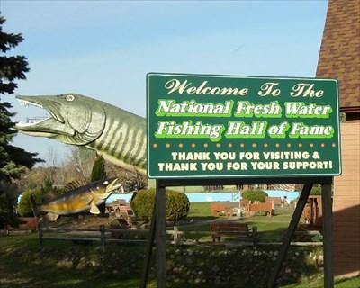 National fresh water fishing hall of fame hayward wi for Freshwater fishing hall of fame