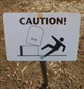 Image for Caution - Falling Tombstones - Boulder Colorado