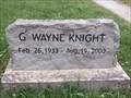 Image for G. Wayne Knight, Rocky Comfort, MO