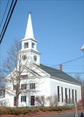 Image for First Congregational Church Clock  -  Hopkinton, NH