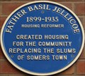 Image for Father Basil Jellicoe Blue Plaques - Drummond Street, London, UK