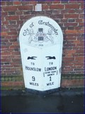 Image for A315 Milestone - Kensington Gore, London, UK