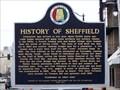 Image for History of Sheffield - Sheffield, AL
