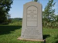 Image for John Gray Monument - Noble Twp, Noble Co, Ohio