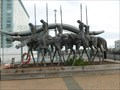 Image for The Partisans - Bony Horsemen Statue - Boston, MA