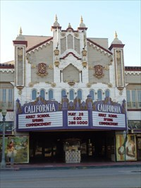 veritas vita visited California Theatre -- San Bernardino CA