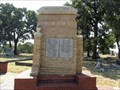 Image for Bricklayers Union Monument - Oakwood Cemetery Historic District - Fort Worth, TX