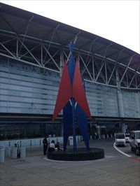 Conquest of Space Setting, SFO, International Terminal, San Francisco, California