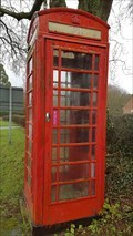 Image for Red Telephone Box - Main Street - Sutton Cheney, Leicestershire