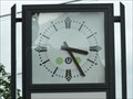 Image for Clock in front of the Postamt - Bad Neuenahr - RLP / Germany