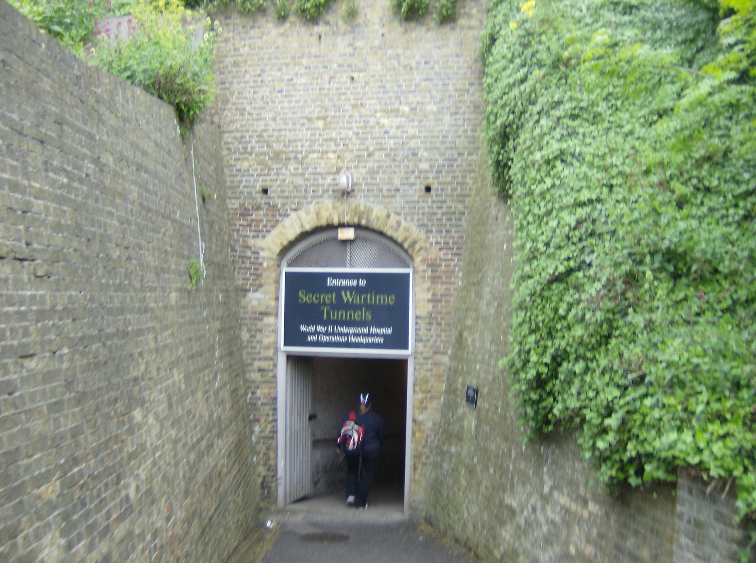 Secret Wartime Tunnels Dover Castle Image