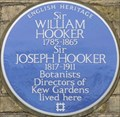 Image for Sir William and Sir Joseph Hooker - Kew Green, London, UK