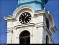 Image for Clocks of the Church of St. Adalbert / Hodiny kostela Sv. Vojtecha - Príbram (Central Bohemia)