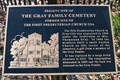 Image for Site of The Gray Family Cemetery & First Presbyterian Church
