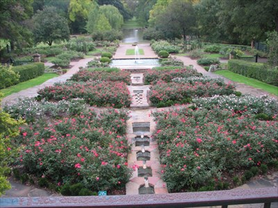 Botanical Gardens Rose Garden   Fort Worth, Texas   Rose Gardens On  Waymarking.com