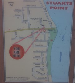 You Are Here, Ocean Drive, Stuarts Point